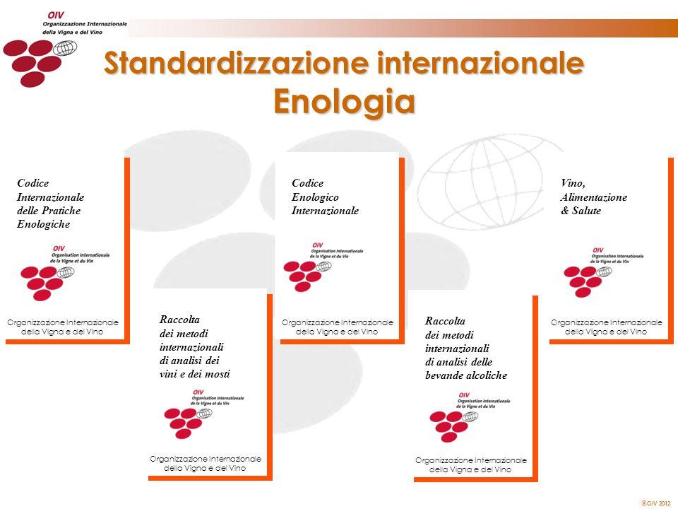 Standardizzazione internazionale Enologia