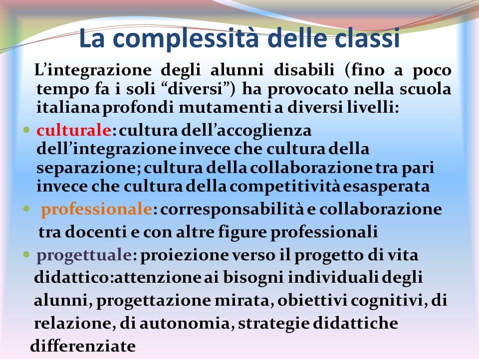 La complessità delle classi