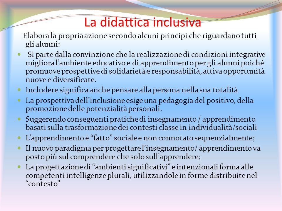 La didattica inclusiva