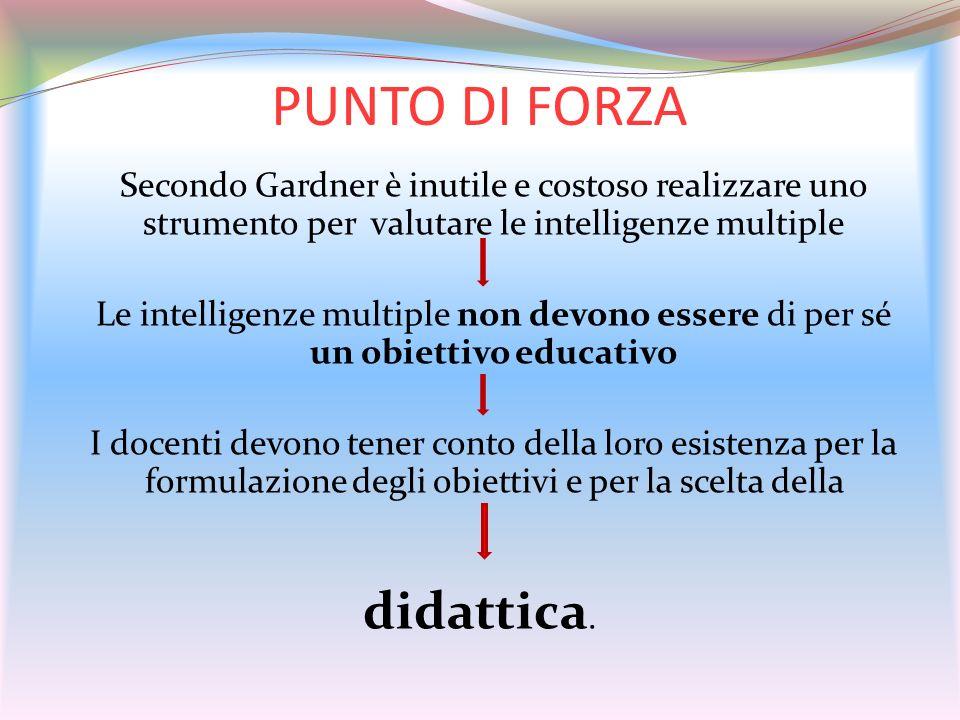 PUNTO DI FORZA didattica.