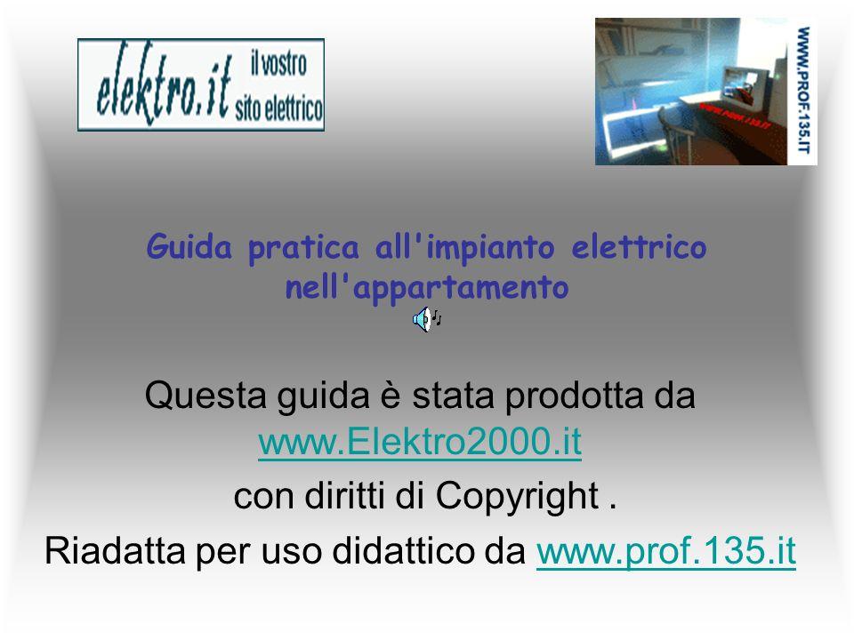 Guida pratica all impianto elettrico nell appartamento