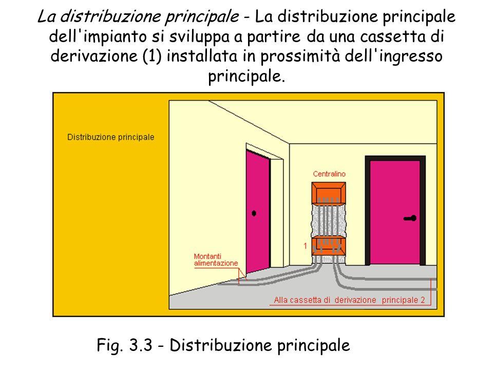 Fig. 3.3 - Distribuzione principale