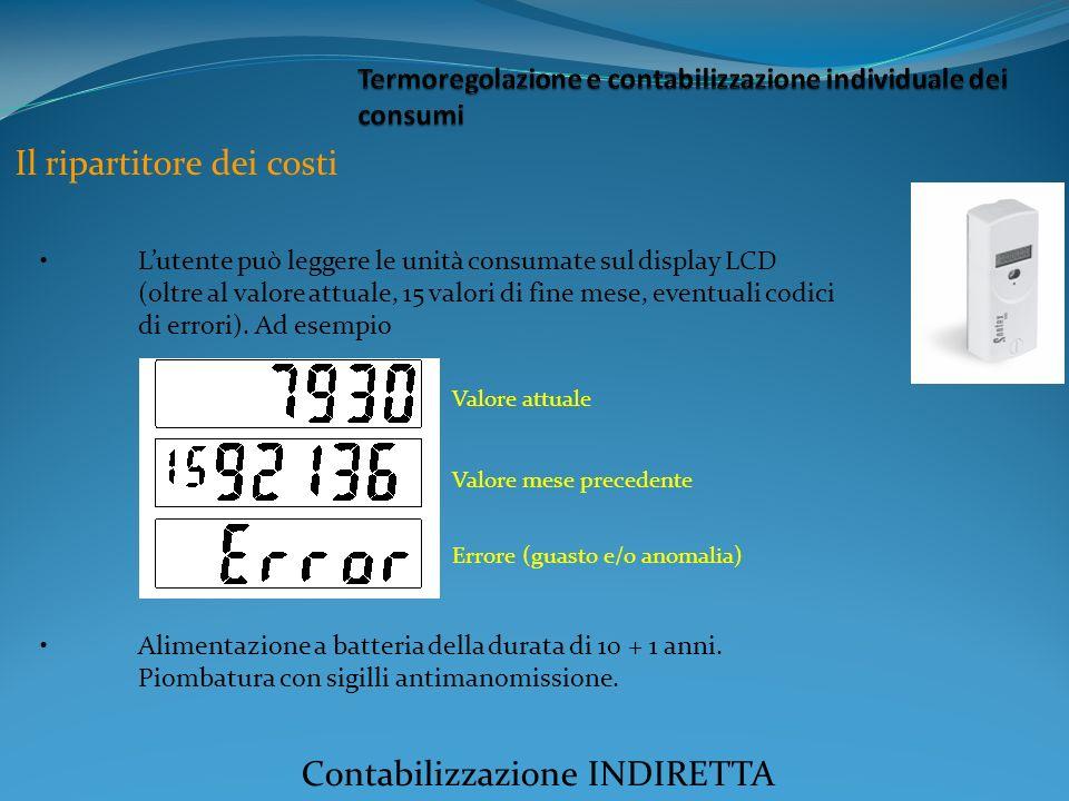Termoregolazione e contabilizzazione individuale dei consumi