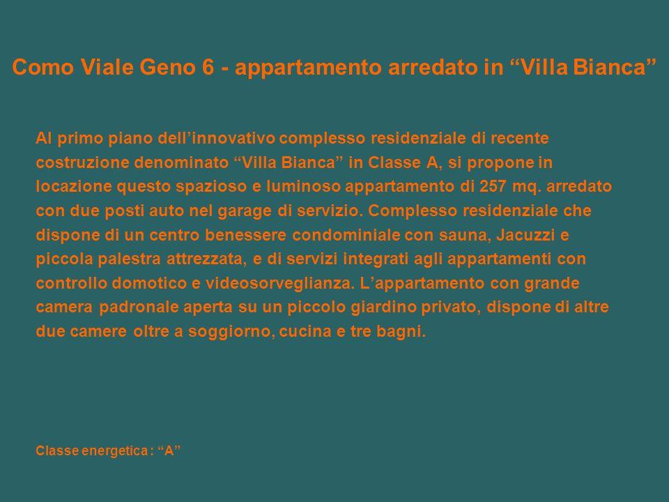 Como Viale Geno 6 - appartamento arredato in Villa Bianca