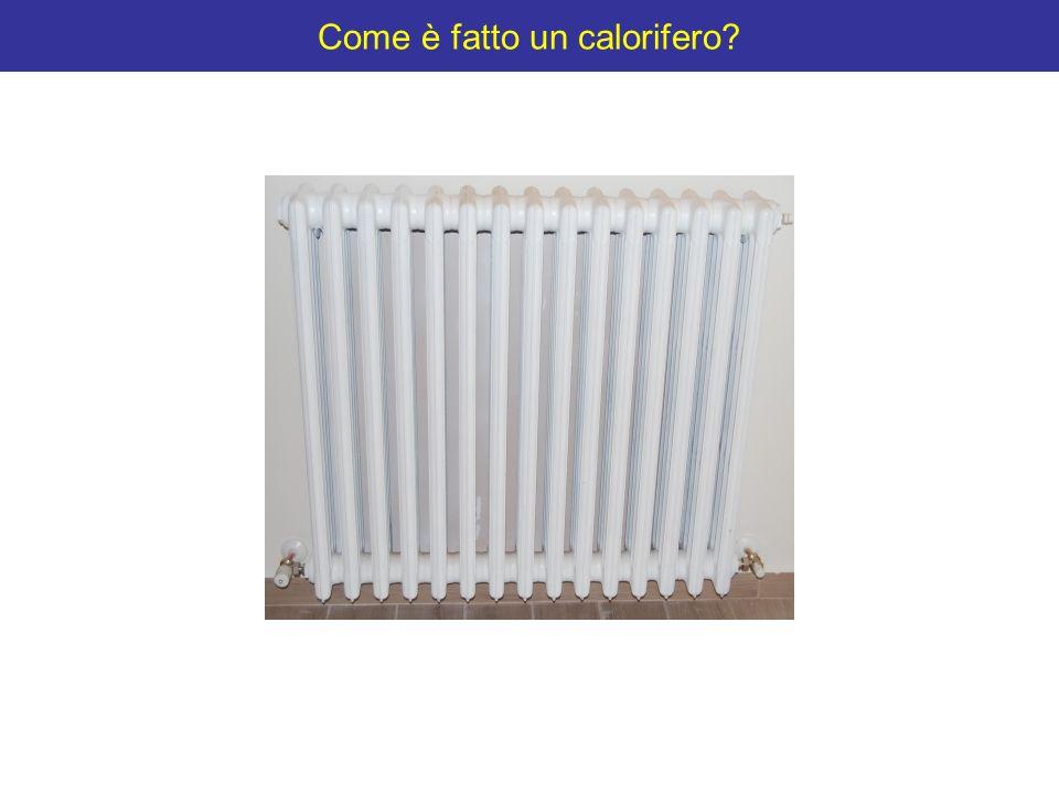 Come è fatto un calorifero