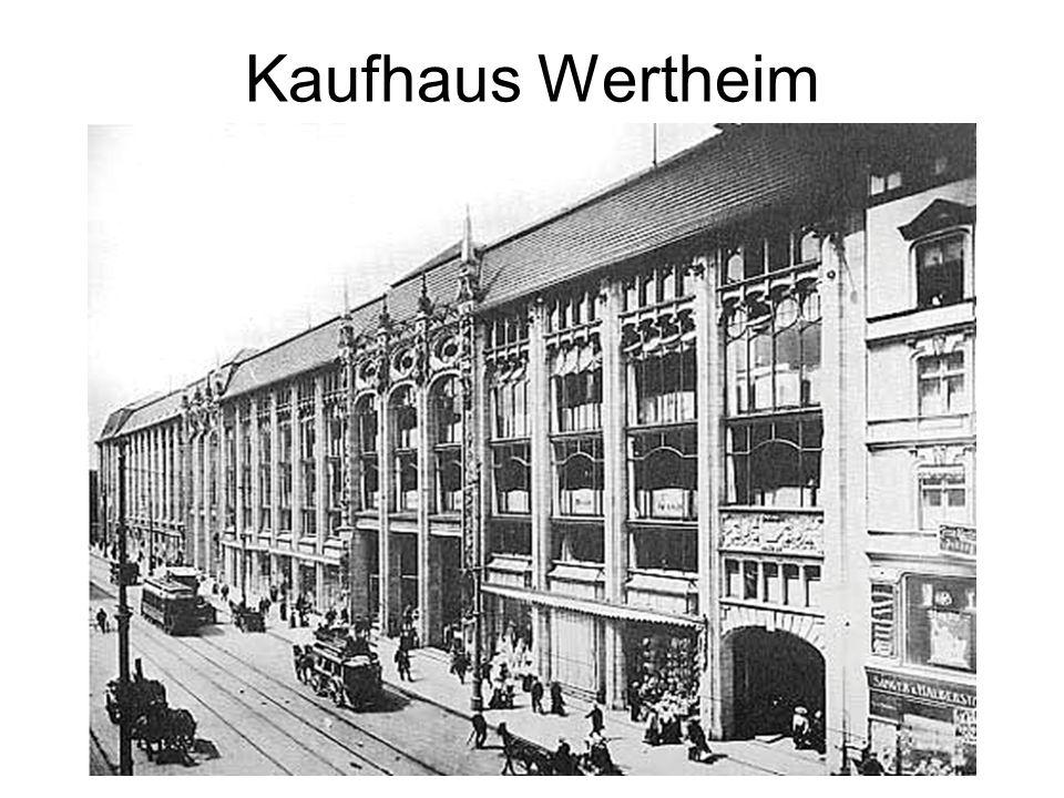 Kaufhaus Wertheim