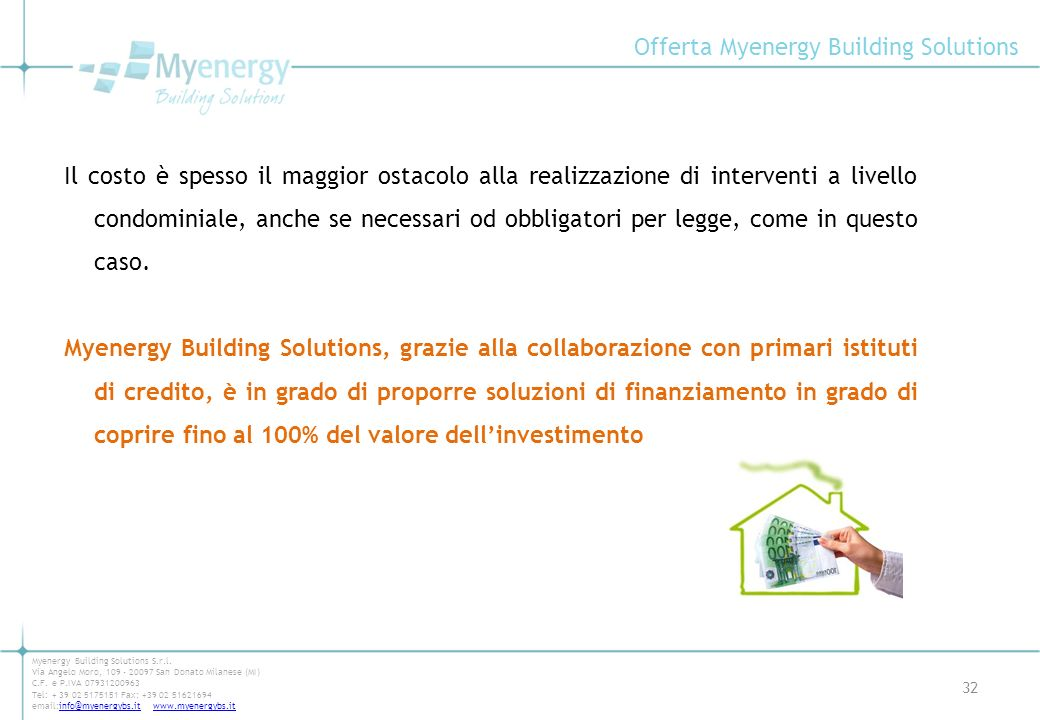 Offerta Myenergy Building Solutions
