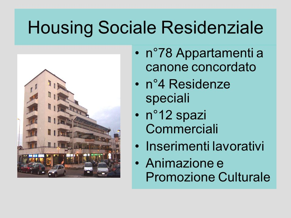 Housing Sociale Residenziale