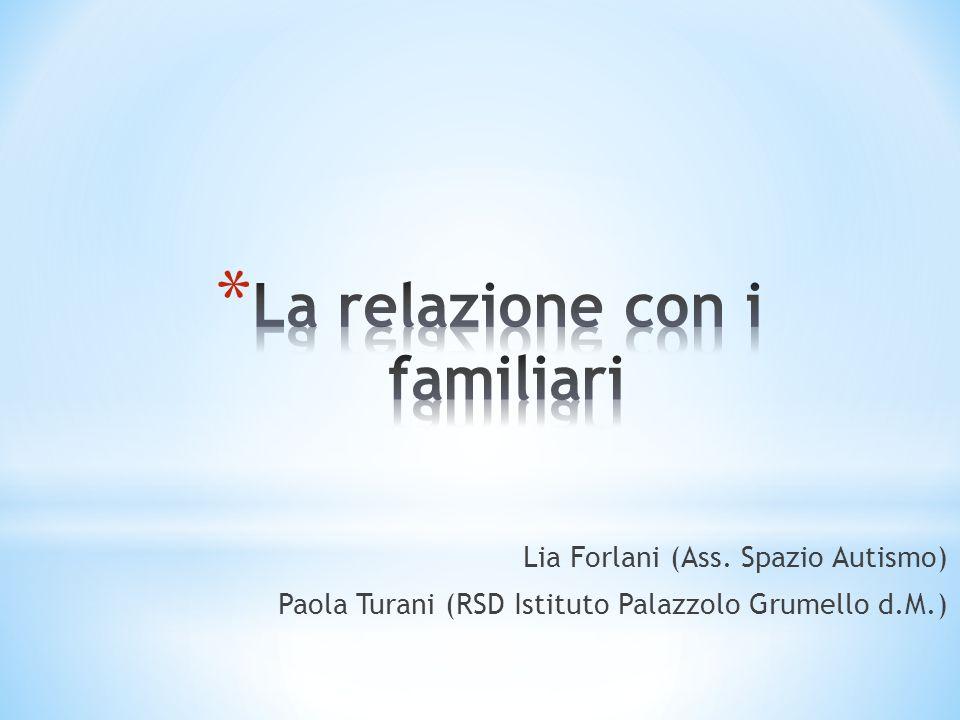 La relazione con i familiari