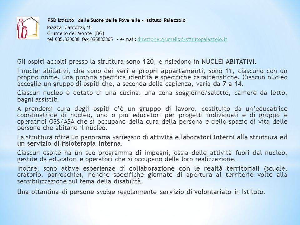 RSD Istituto delle Suore delle Poverelle – Istituto Palazzolo