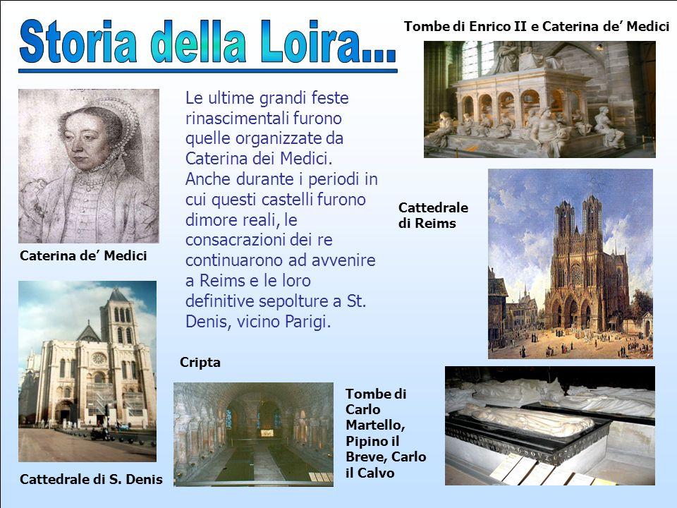 Tombe di Enrico II e Caterina de' Medici