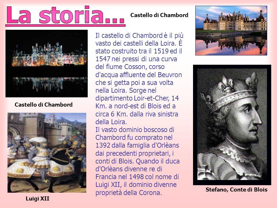 La storia...Castello di Chambord.