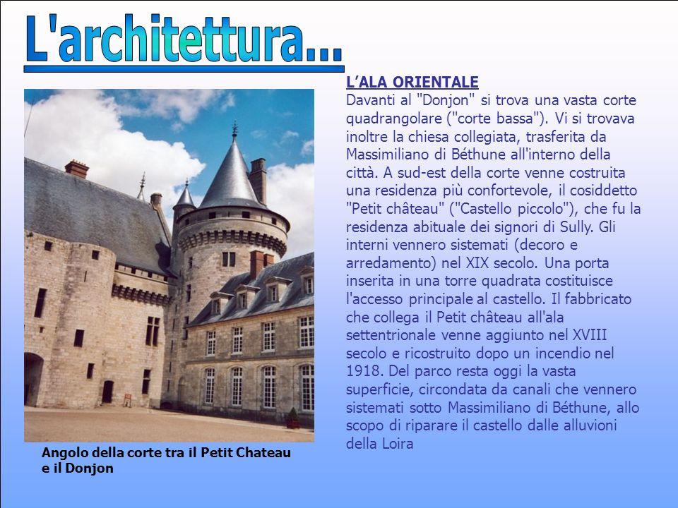 L architettura... L'ALA ORIENTALE