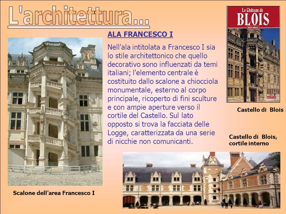 L architettura... ALA FRANCESCO I