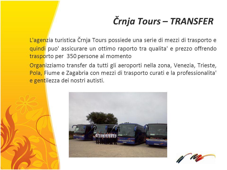 Črnja Tours – TRANSFER