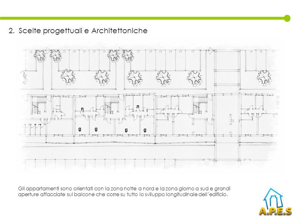 2. Scelte progettuali e Architettoniche