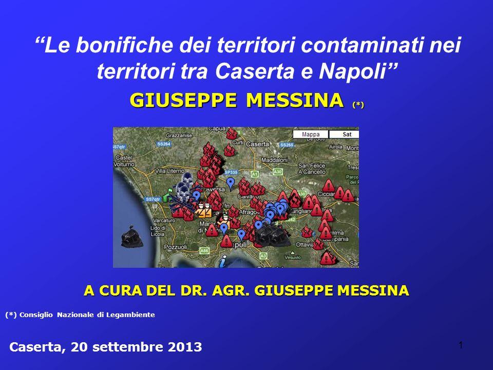 A CURA DEL DR. AGR. GIUSEPPE MESSINA
