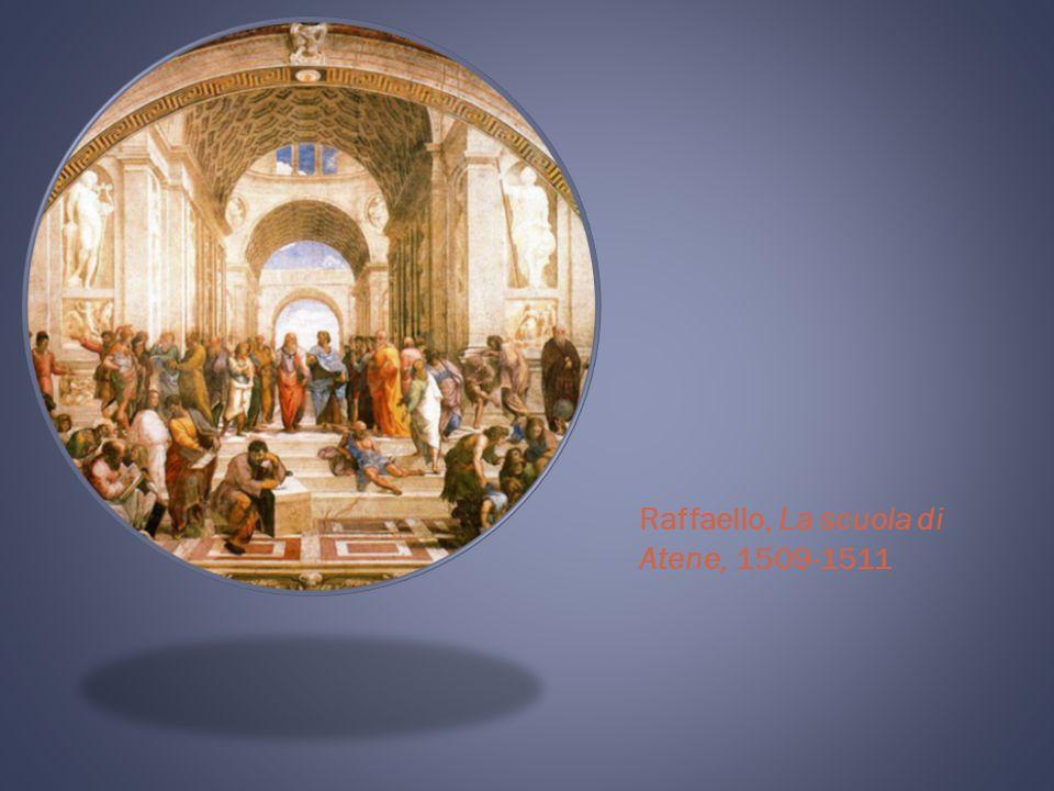 Raffaello, La scuola di Atene, 1509-1511