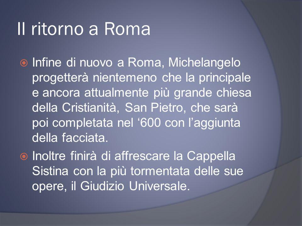 Il ritorno a Roma