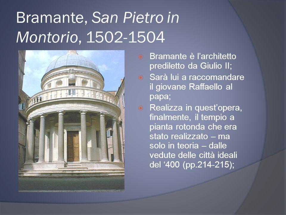 Bramante, San Pietro in Montorio, 1502-1504