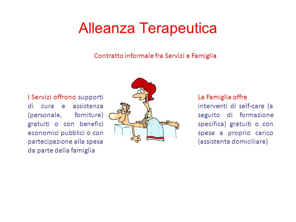 Contratto informale fra Servizi e Famiglia