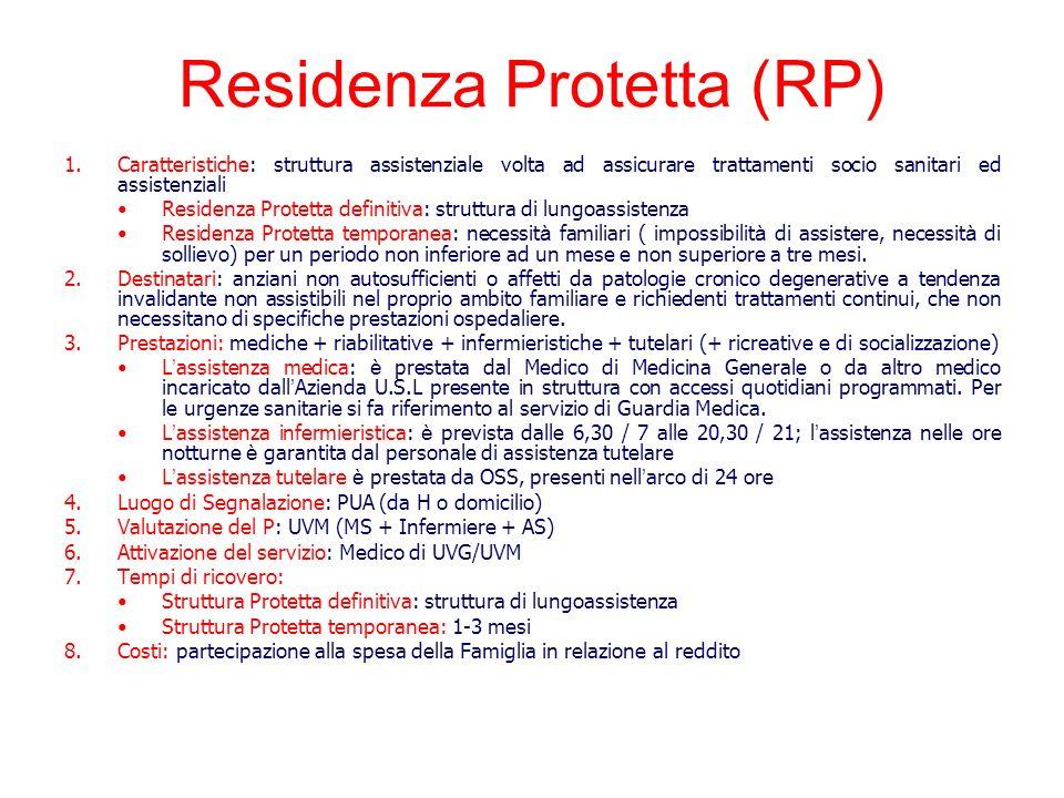 Residenza Protetta (RP)