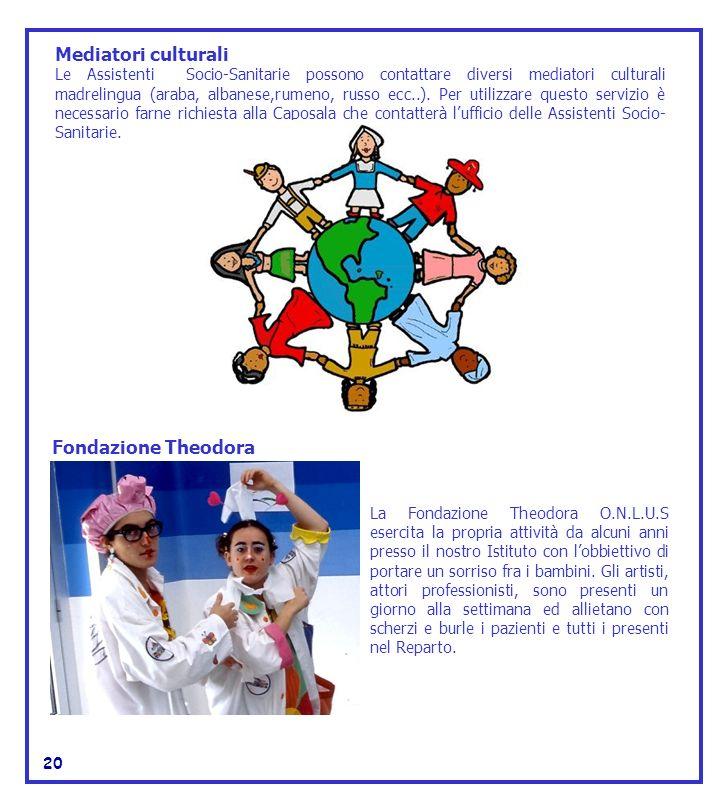 Mediatori culturali Fondazione Theodora