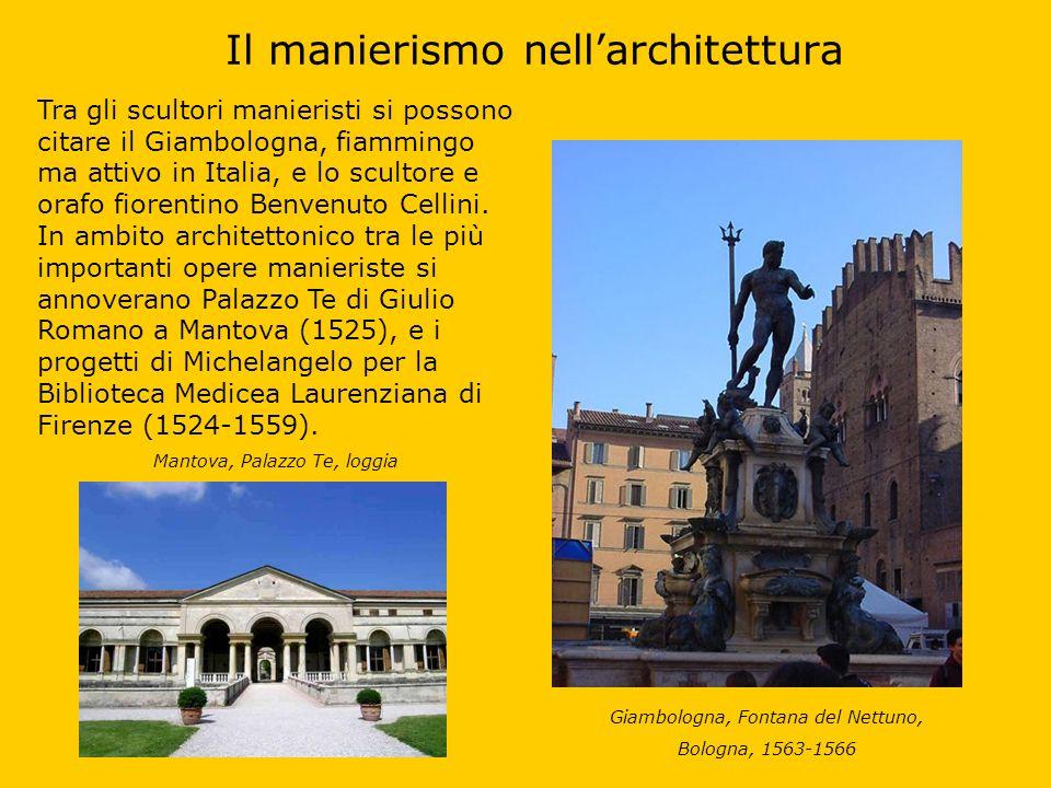 Il manierismo nell'architettura