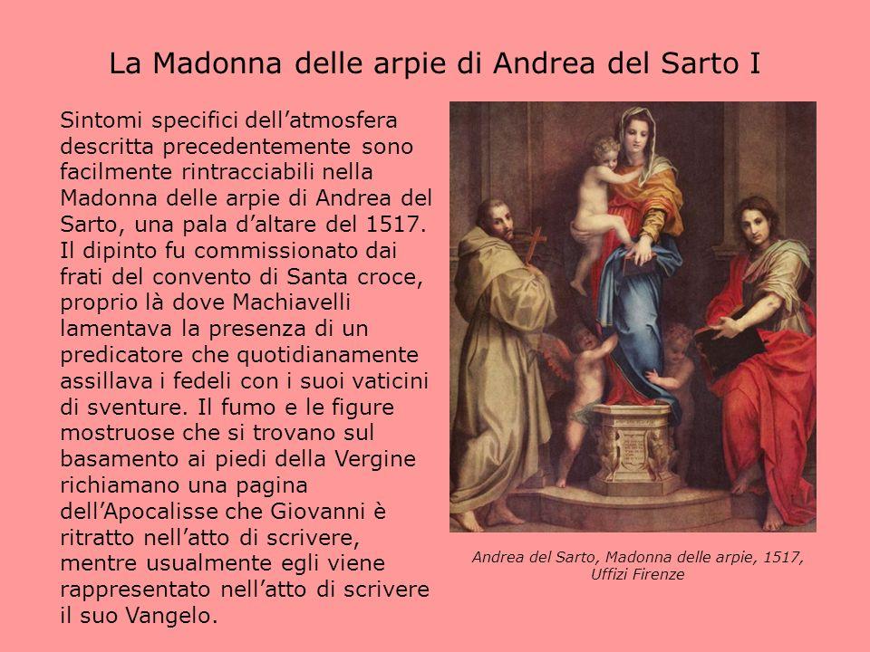 La Madonna delle arpie di Andrea del Sarto I