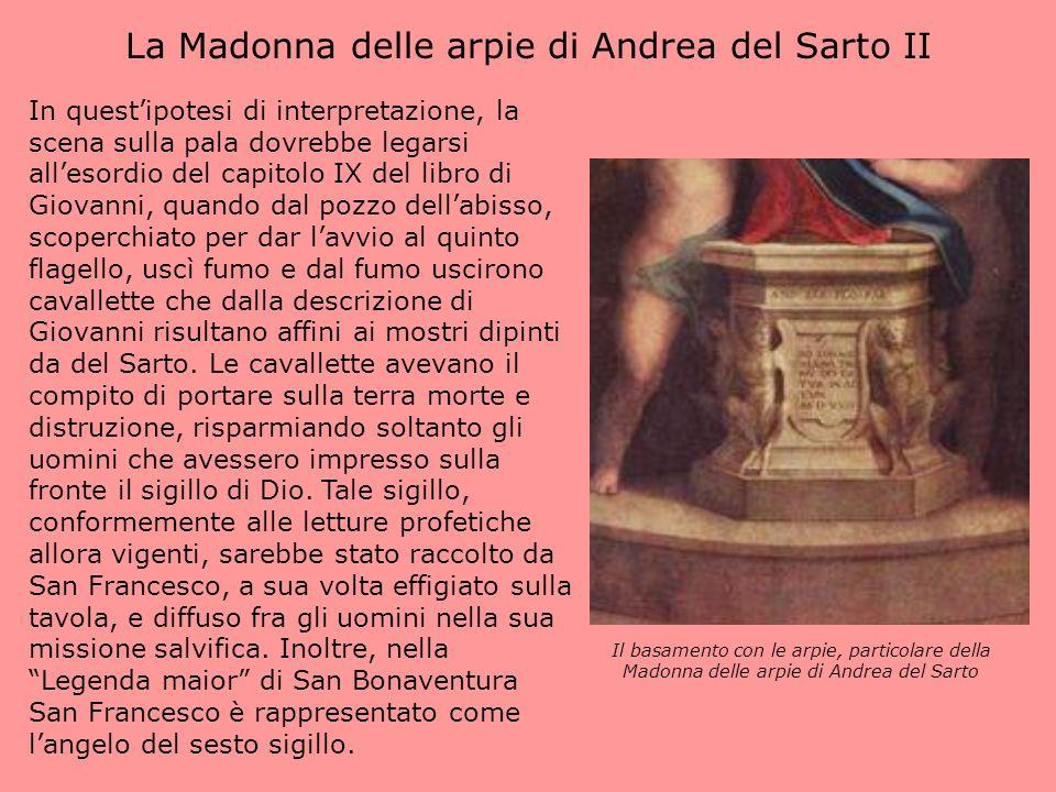 La Madonna delle arpie di Andrea del Sarto II