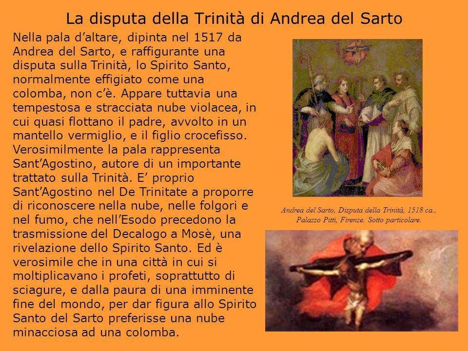 La disputa della Trinità di Andrea del Sarto