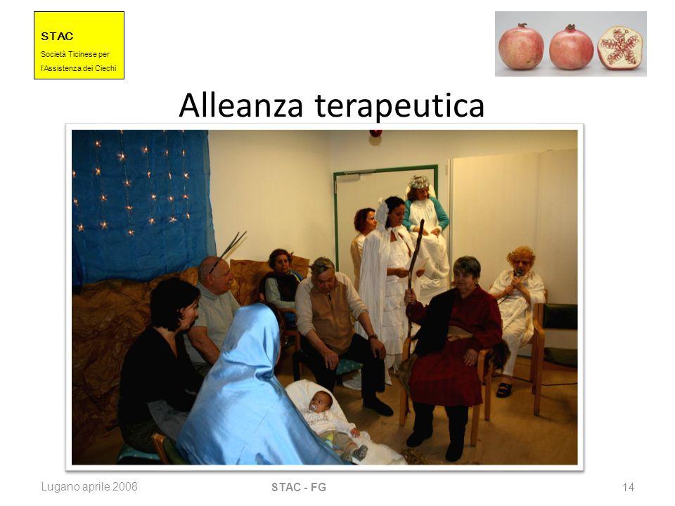 Alleanza terapeutica Lugano aprile 2008 STAC - FG