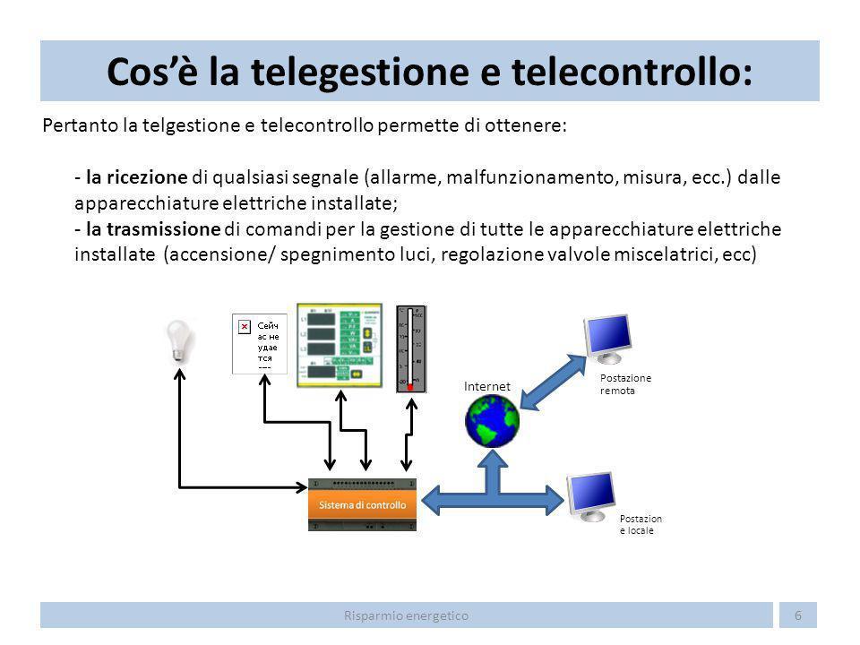 Cos'è la telegestione e telecontrollo: