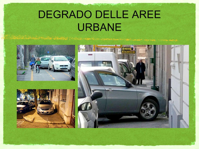 DEGRADO DELLE AREE URBANE