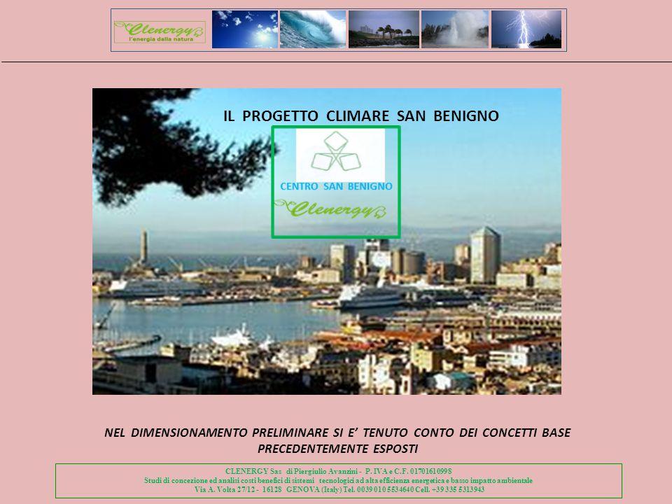 IL PROGETTO CLIMARE SAN BENIGNO