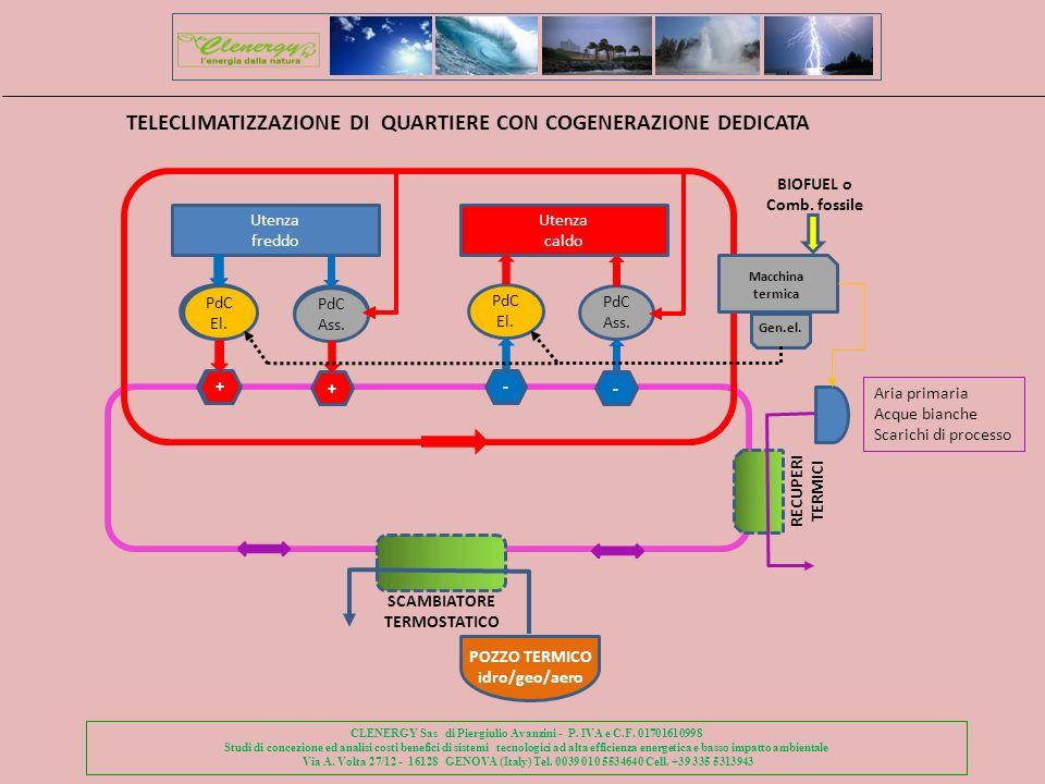 TELECLIMATIZZAZIONE DI QUARTIERE CON COGENERAZIONE DEDICATA
