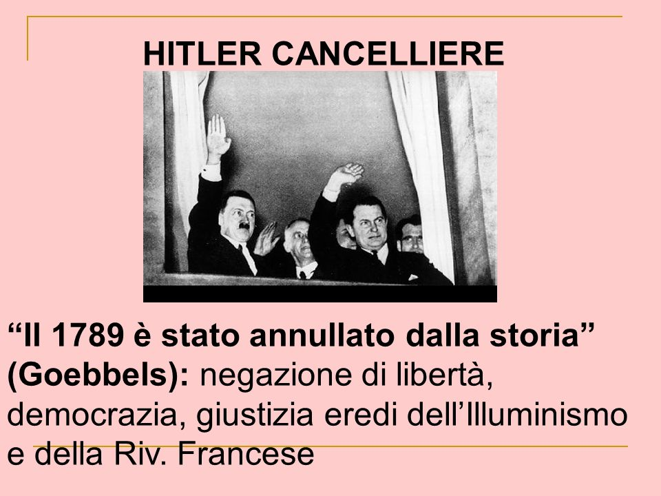 HITLER CANCELLIERE