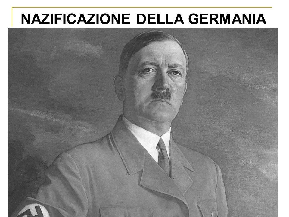 NAZIFICAZIONE DELLA GERMANIA