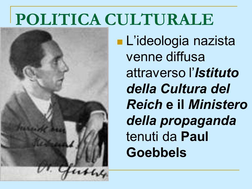 POLITICA CULTURALE