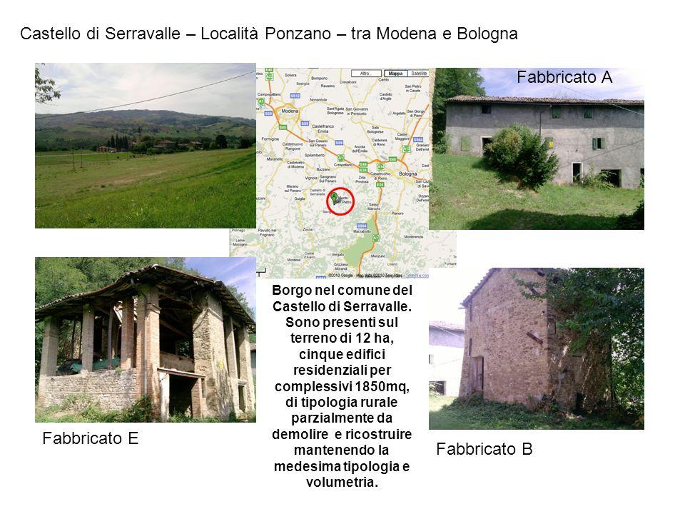 Castello di Serravalle – Località Ponzano – tra Modena e Bologna
