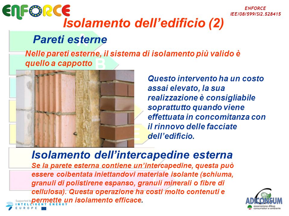 Isolamento dell'edificio (2)
