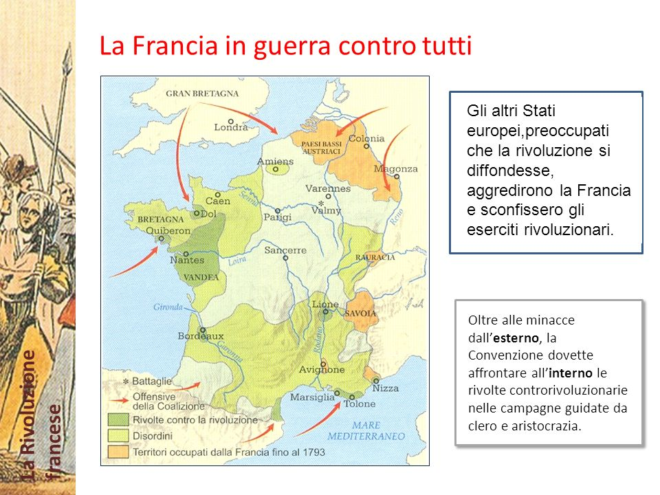 La Francia in guerra contro tutti