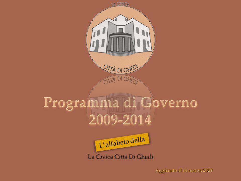 La Civica Città Di Ghedi Aggirnato al 14 marzo 2009