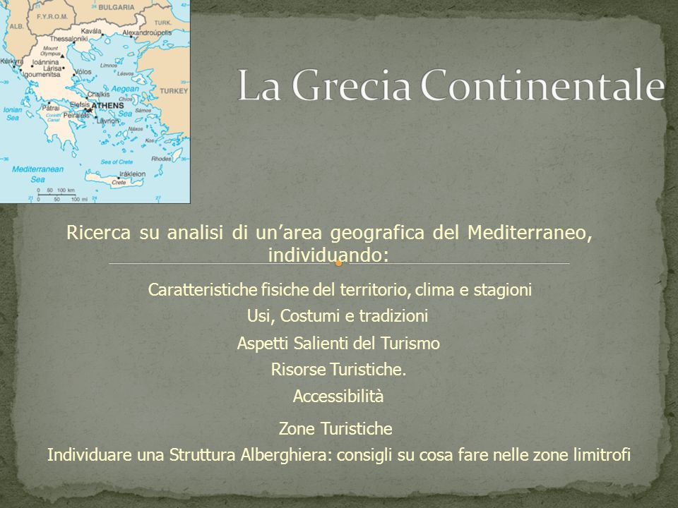 La Grecia Continentale