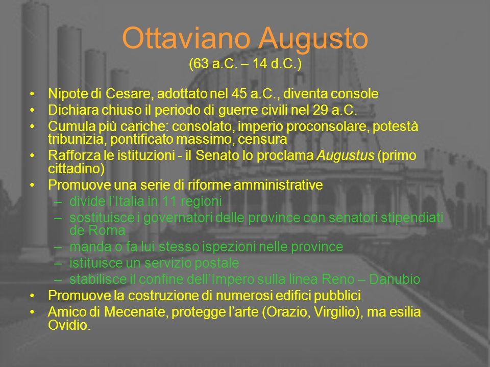 Ottaviano Augusto (63 a.C. – 14 d.C.)