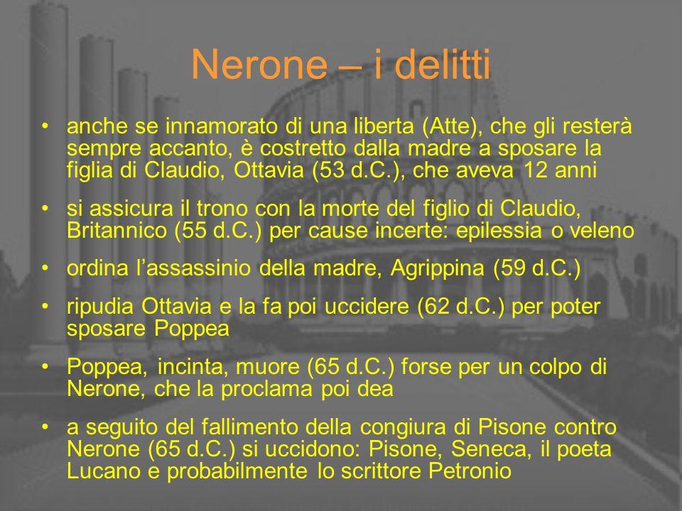 Nerone – i delitti