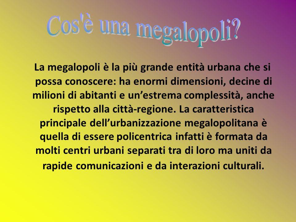 Cos è una megalopoli