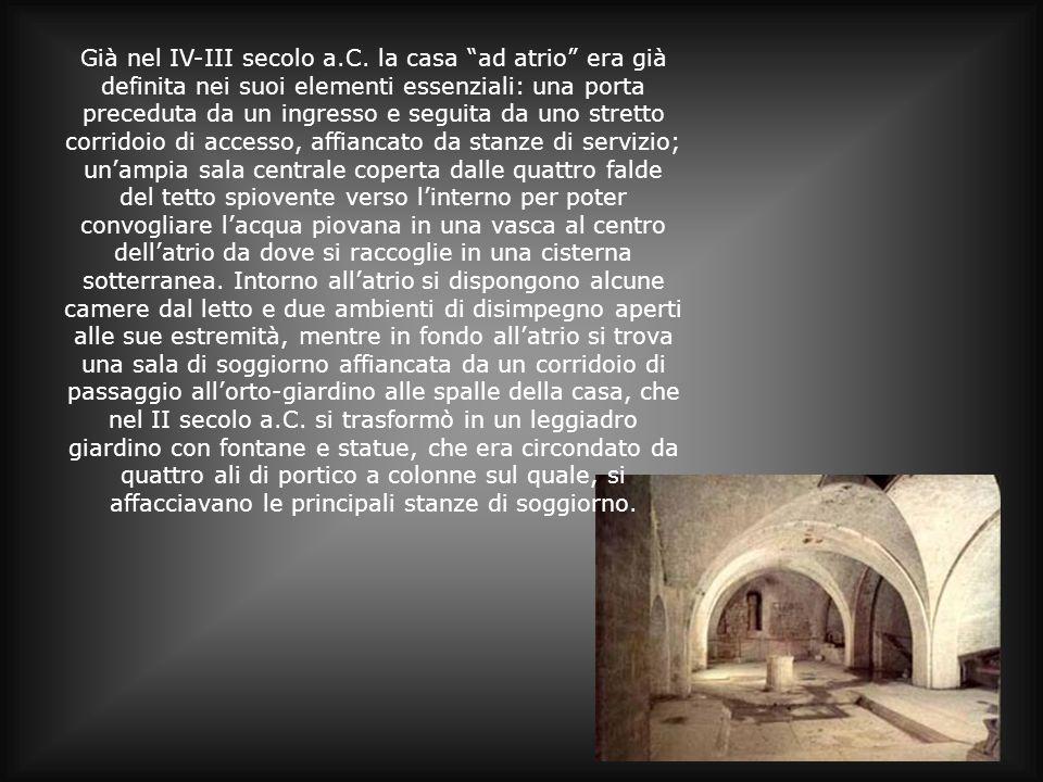 Già nel IV-III secolo a. C