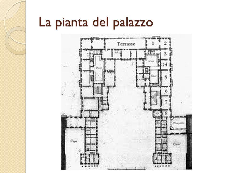 La pianta del palazzo