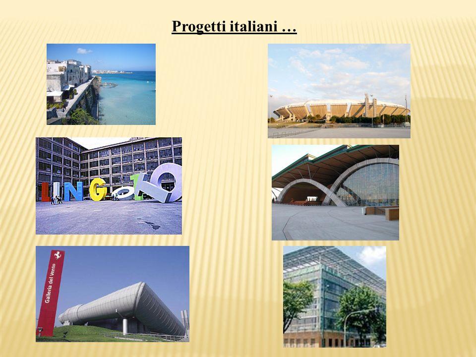 Progetti italiani …